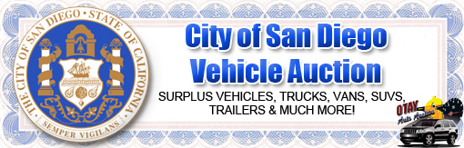 City of San Diego Vehicle Auction